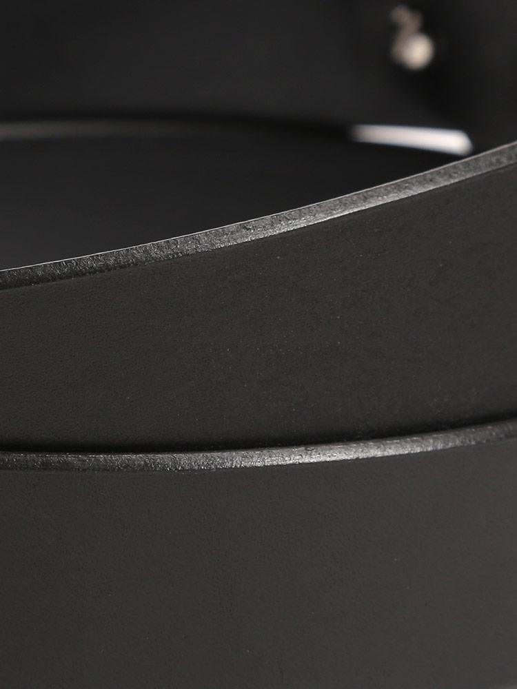 大きいサイズ メンズ 飯田工房イイダコウボウ日本製 レザー 無地 ネジ式 ベルト カジュアル ファッション 小物 レザーベルト 長尺 シンプル LIK4041lF1uKJc35T