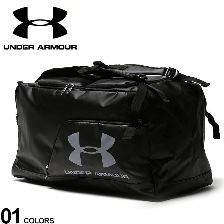 10%OFFクーポンあり■大きいサイズ メンズ UNDER ARMOUR (アンダーアーマー) 2WAY ロゴ フットボール ダッフルバッグ ボストンバッグ リュック サッカー ボールバッグ フットサル スポーツ AFG7275