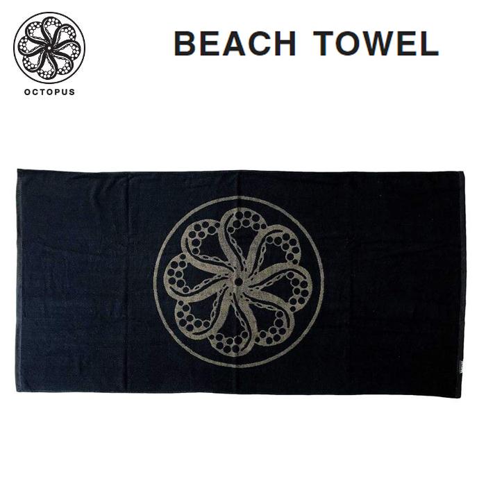 お得なキャンペーンを実施中 OCTOPUS オクトパス BEACH TOWEL ビーチタオル サーフィン 売れ筋 送料無料 一部地域を除きます 海水浴 バスタオル
