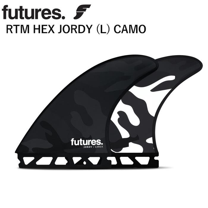 【2020年NEWモデル!】 futures Fin フューチャーフィン サーフィン フィン ジョディスミス RTM HEX JORDY (L) CAMO LARGE