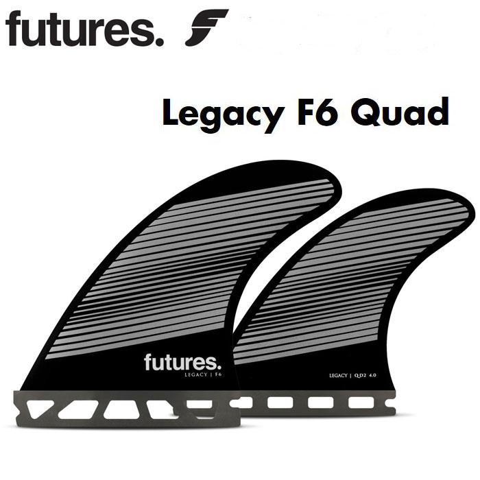 futures フューチャーフィン Fシリーズ RTM HEX LEGACY F6 QUAD