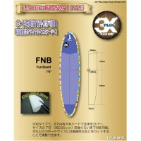 3X+PLUS クリアデッキ FNB ファンボード用テールデッキ含まず(大判など5枚入り)【05P03Dec16】