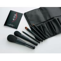 Kfi-K206 熊野化粧筆セット 筆の心 ブラシ専用ケース付き【05P03Dec16】