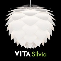 ELUX(エルックス) VITA(ヴィータ) SILVIA ペンダントランプ 3灯 ホワイトコード 02007-WH-3【05P03Dec16】
