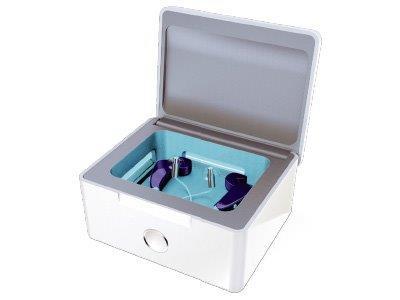 送料無料 乾燥剤が不要の補聴器乾燥機です 補聴器収納 乾燥 オンラインショッピング UV除菌が出来る電気乾燥機です 補聴器乾燥機 シーメンス シグニア パーフェクトドライラックス siemens signia 贈物