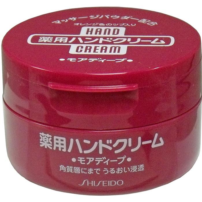 売れ筋 資生堂 薬用ハンドクリーム モアディープ 100g 日本全国 卓越 送料無料 ジャー