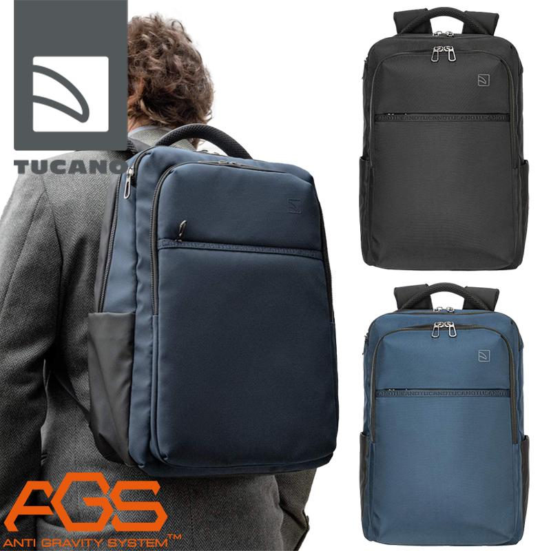 TUCANO PLANET - MARTE GRAVITY MacBook Pro 16インチモデル対応 バックパック ブラック ブルー 25L