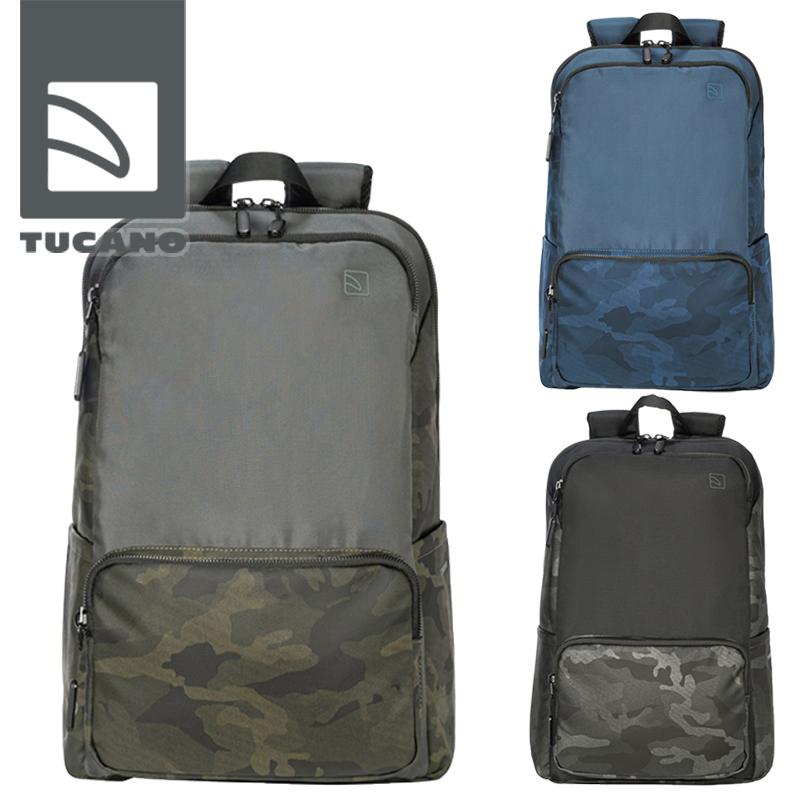 TUCANO PLANET - TERRAS CAMOUFLAGE MacBook Pro 16インチモデル対応 バックパック ブラック ブルー グリーン 25L