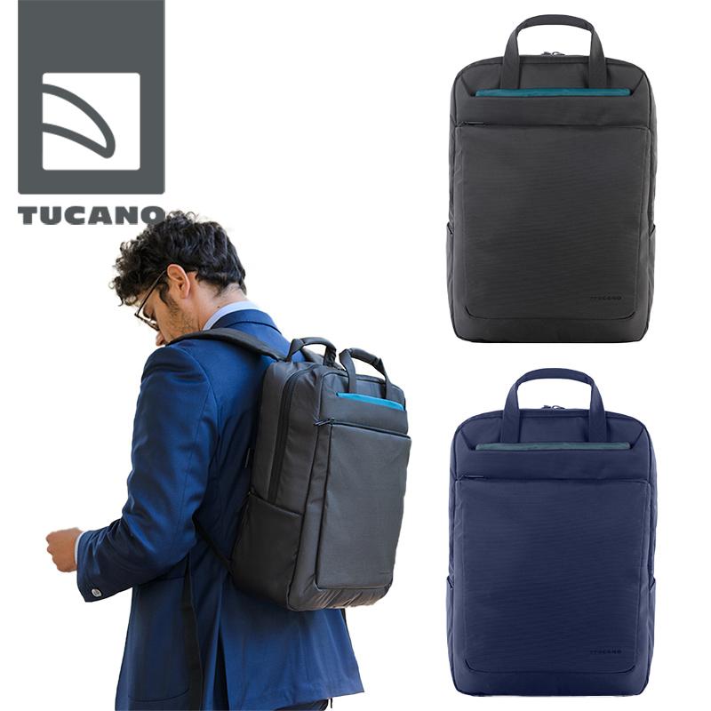 TUCANO Work_Out 3 backpack 15 MacBook/Pro 15インチのPCに最適 対衝撃構造のハイテクビジネスバッグ USBケーブル内蔵 新生活応援キャンペーン中!