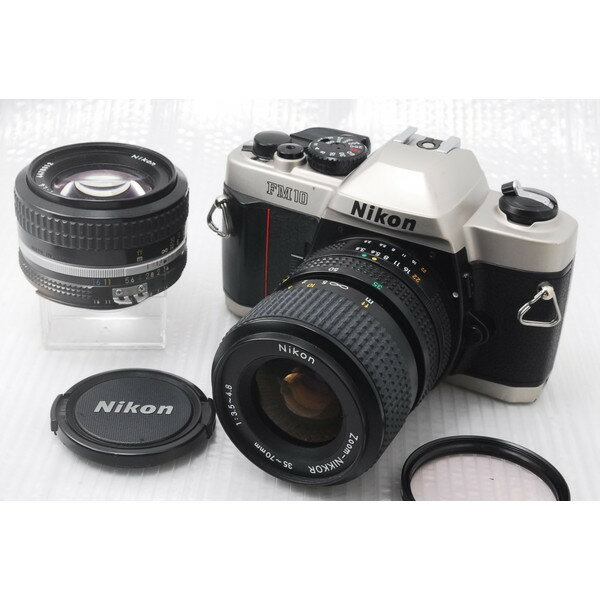 Percent early in Nikon single-lens reflex camera FM10 standard set