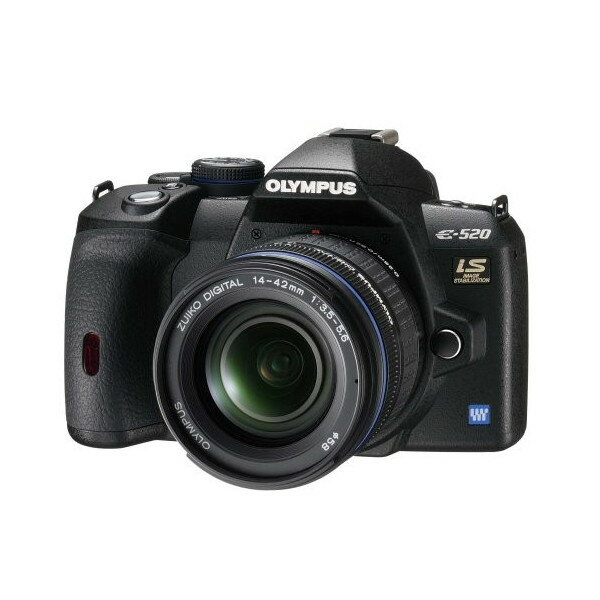 Olympus Digital Camera 5 OLYMPUS digital single-lens reflex camera E-520 lens kit E-520KIT