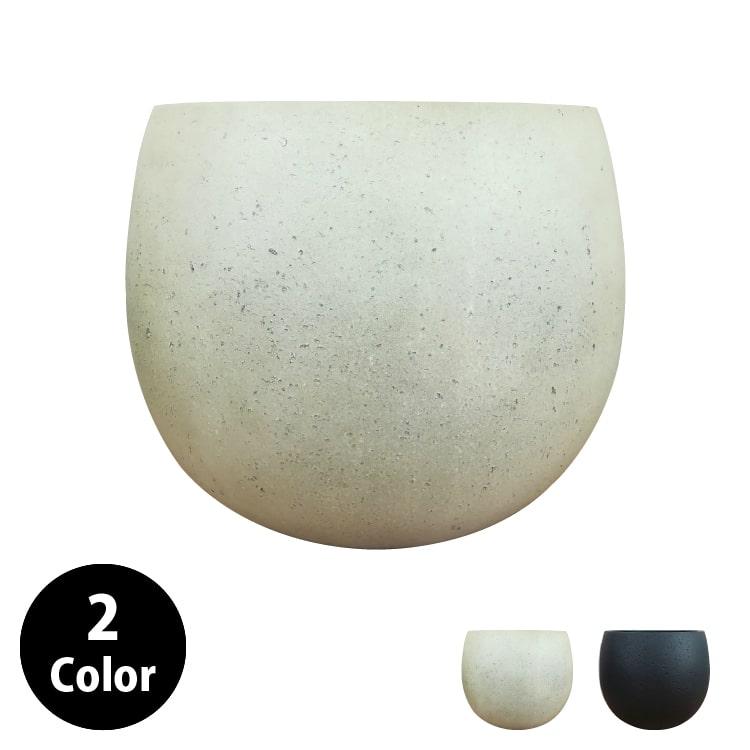 植木鉢 軽くて丈夫なFRP鉢カバー GP007-420 14号(42cm) 鉢底穴有り 丸型