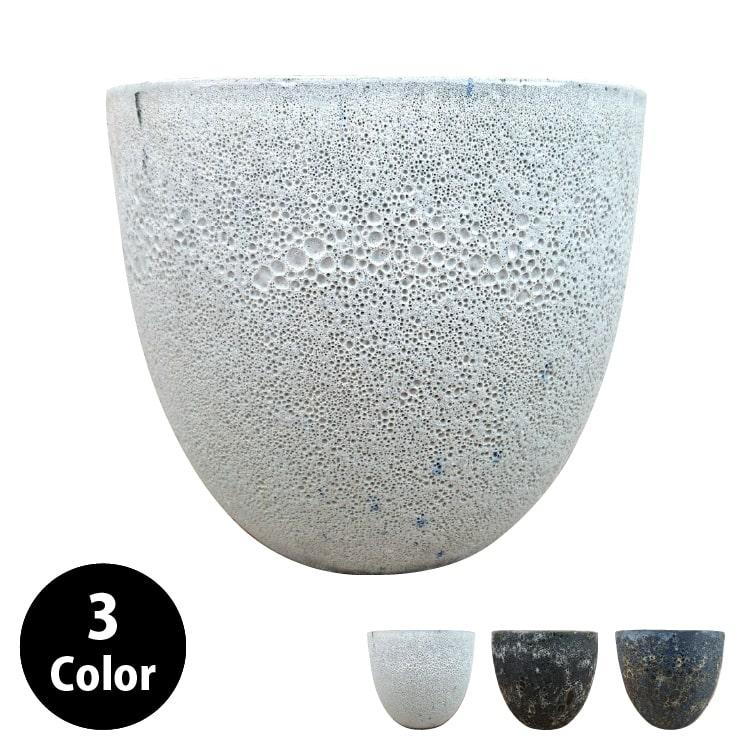 植木鉢 ムーングレイズポット GP008-330 11号(33cm) 鉢底穴有り