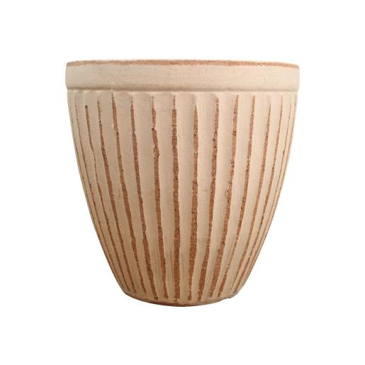 植木鉢 おしゃれ 高品質テラコッタ KT201-390 13号(39cm) / テラコッタ 大型 屋外 素焼き