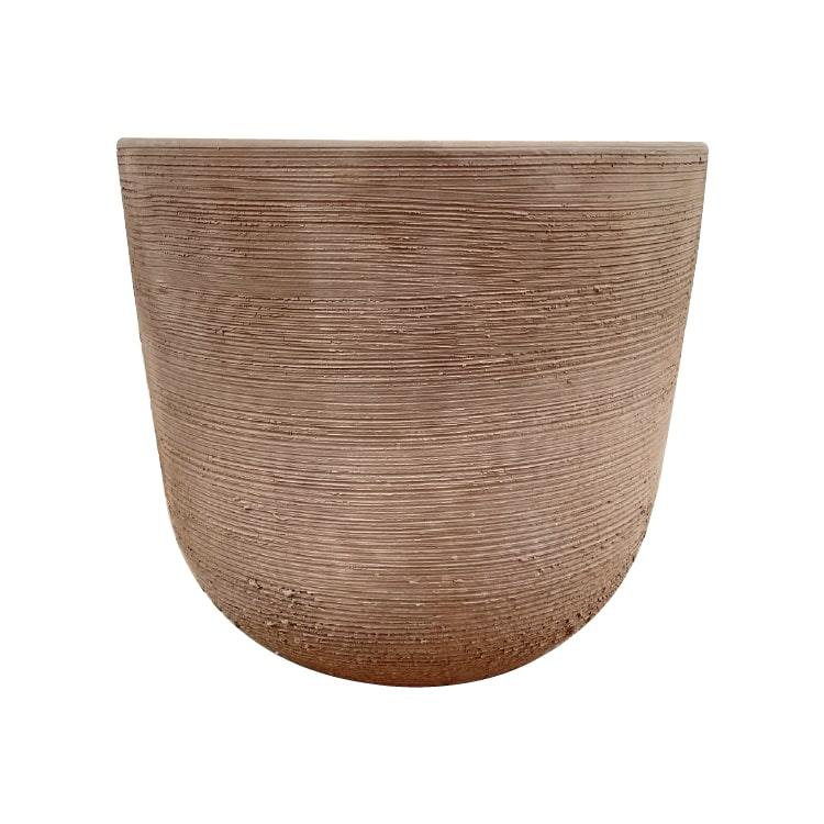 植木鉢 おしゃれ 高品質テラコッタ KT210-370 13号(37cm) / テラコッタ 大型 屋外 素焼き
