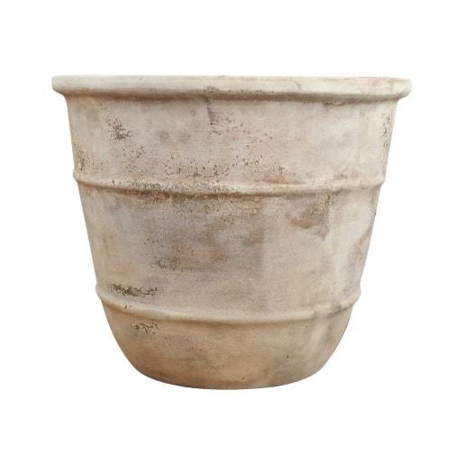 植木鉢 おしゃれ 高品質テラコッタ KT213-460 15号(46cm) / テラコッタ 大型 屋外 素焼き