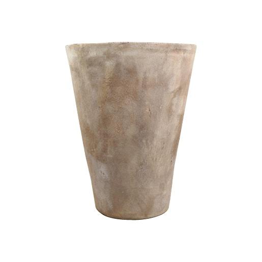 植木鉢 おしゃれ 高品質テラコッタ KT214-390 13号(39cm) / テラコッタ 大型 屋外 素焼き