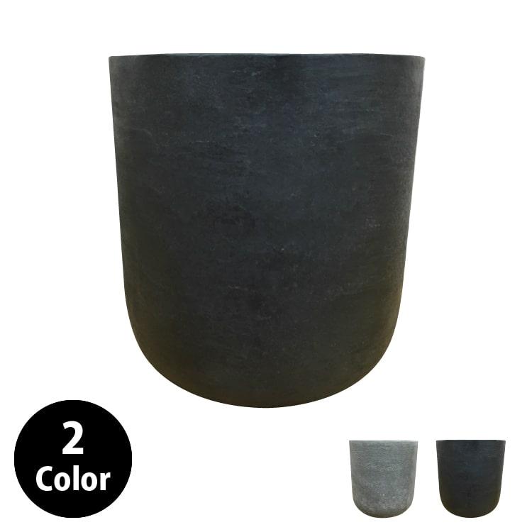 植木鉢 おしゃれ グラスファイバーの鉢カバー MM029-370 12号(37cm) / 陶器鉢 大型 セメント 軽い