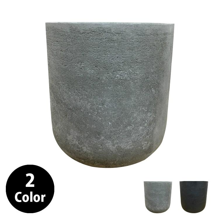 植木鉢 おしゃれ グラスファイバーの鉢カバー MM029-450 15号(45cm) / 陶器鉢 大型 セメント 軽い