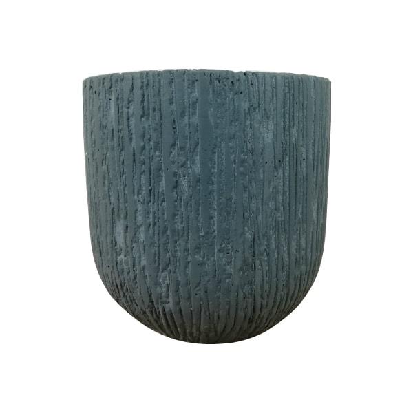 植木鉢 おしゃれ 丈夫で軽いグラスファイバー製 MM045-435 14.5号(43.5cm) / 陶器鉢 スタイリッシュ 大型