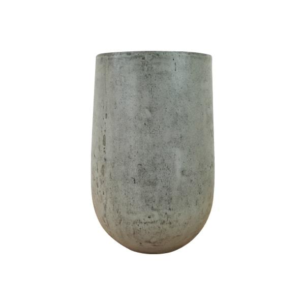 植木鉢 おしゃれ きめ細やかな質感のセメントポット MM051-550 18号(55cm) / 陶器鉢 スタイリッシュ 大型 コンクリート