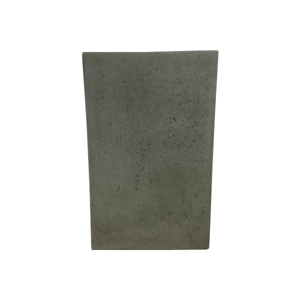 植木鉢 おしゃれ きめ細やかな質感のセメントポット MM052-410 14号(41cm) / 陶器鉢 スタイリッシュ 大型 コンクリート