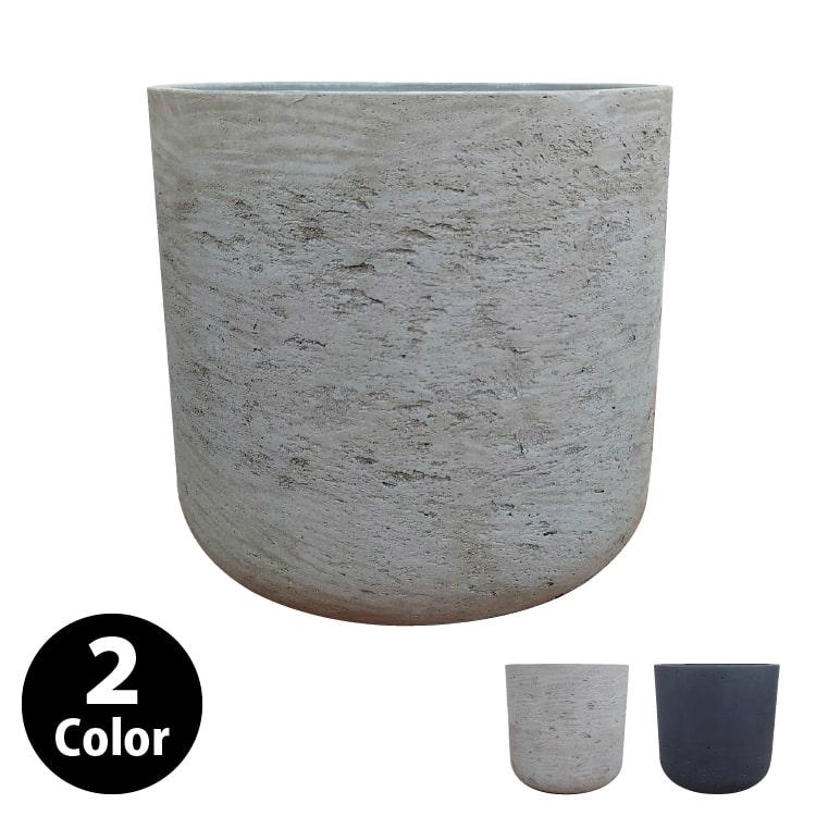 植木鉢 おしゃれ グラスファイバーの鉢カバー MM061-320 11号(32cm) / 陶器鉢 大型 セメント 軽い