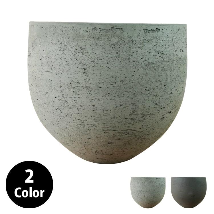 植木鉢 おしゃれ グラスファイバーの鉢カバー MM062-390 13号(39cm) / 陶器鉢 大型 セメント 軽い