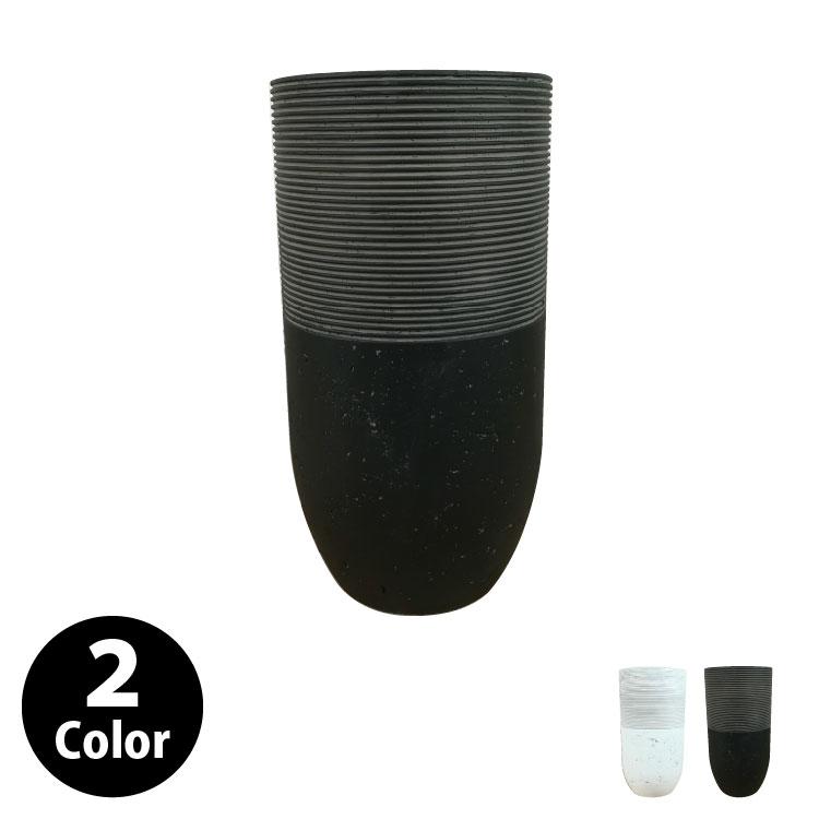 植木鉢 おしゃれ グラスファイバーの鉢カバー MM308-480 8号(24cm) / 陶器鉢 大型 セメント 軽い