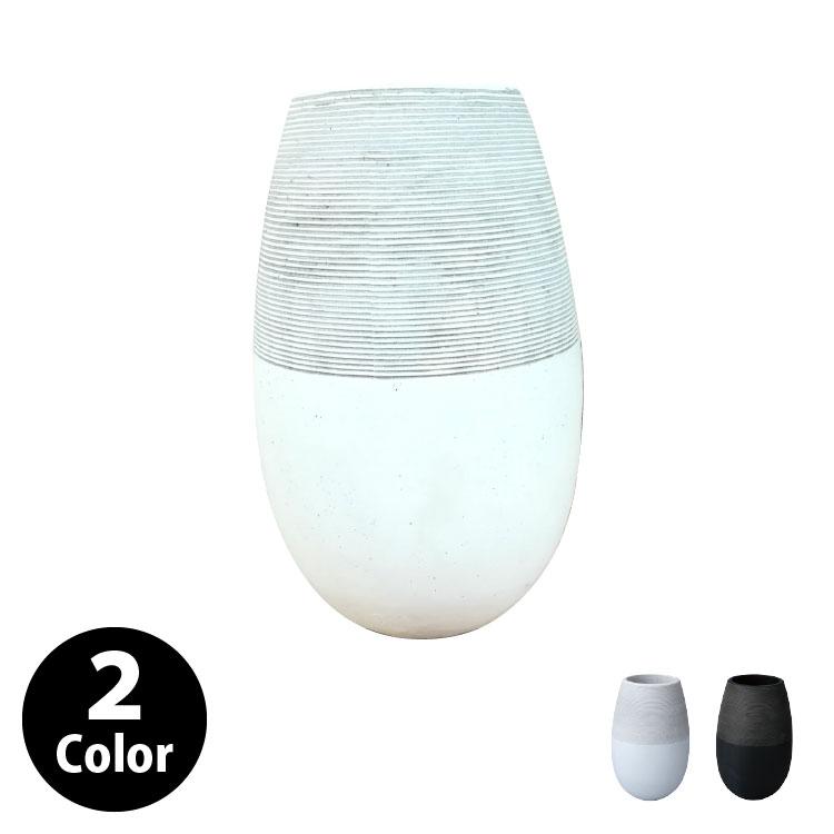 植木鉢 おしゃれ グラスファイバーの鉢カバー MM309-380 13号(38cm) / 陶器鉢 大型 セメント 軽い