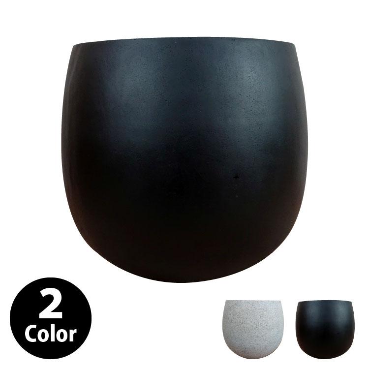 植木鉢 おしゃれ グラスファイバーの鉢カバー MM312-440 14.5号(44cm) / 陶器鉢 大型 セメント 軽い