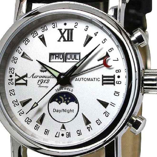 Aeromatic1912 エアロマティック エアロマチック 自動巻き 腕時計 メンズ パイロットウォッチ [A1426] 正規代理店品 メーカー保証24ヵ月 収納ケース付き