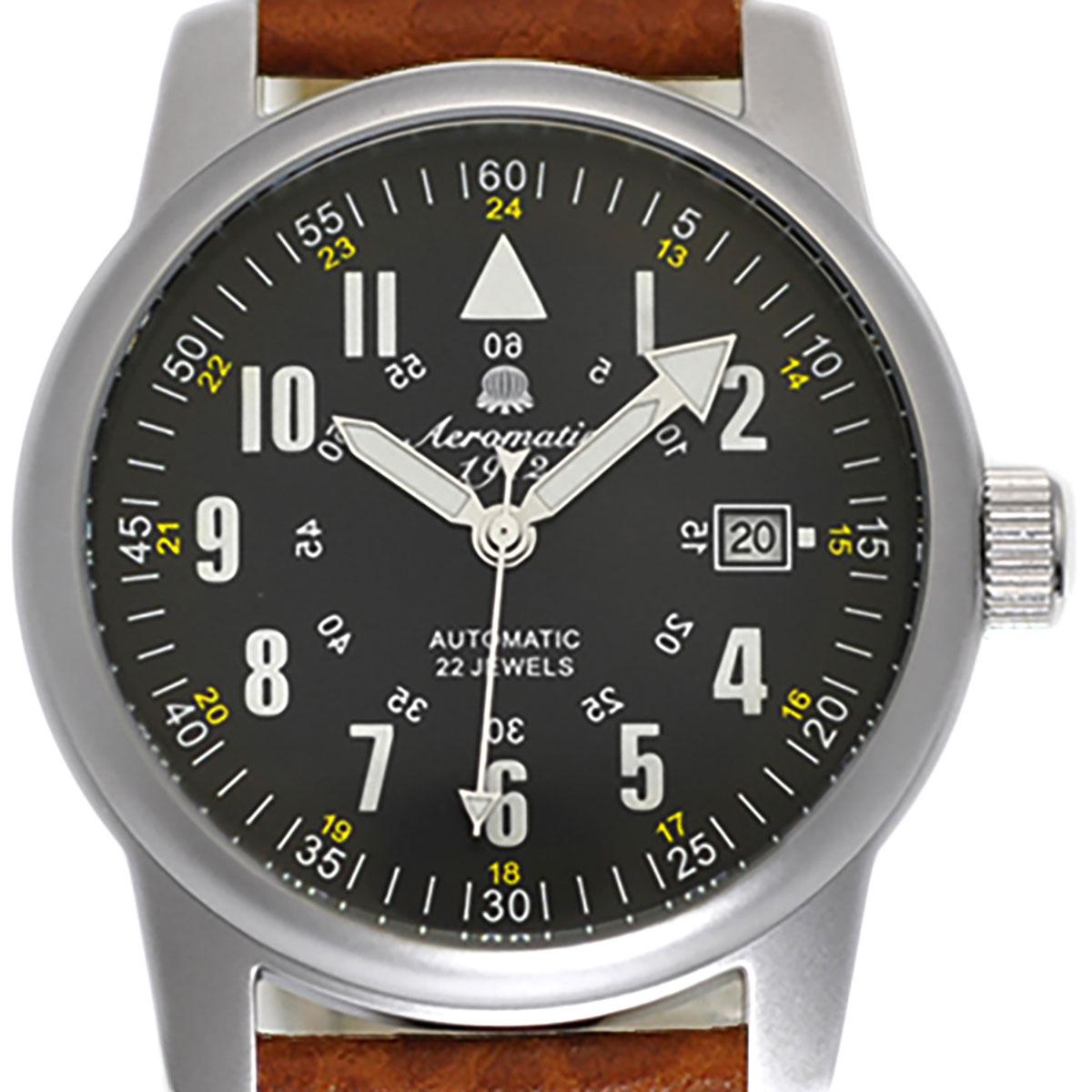 Aeromatic1912 エアロマティック1912 自動巻き(手巻き機能あり) 腕時計 [A1027B] 並行輸入品  デイト