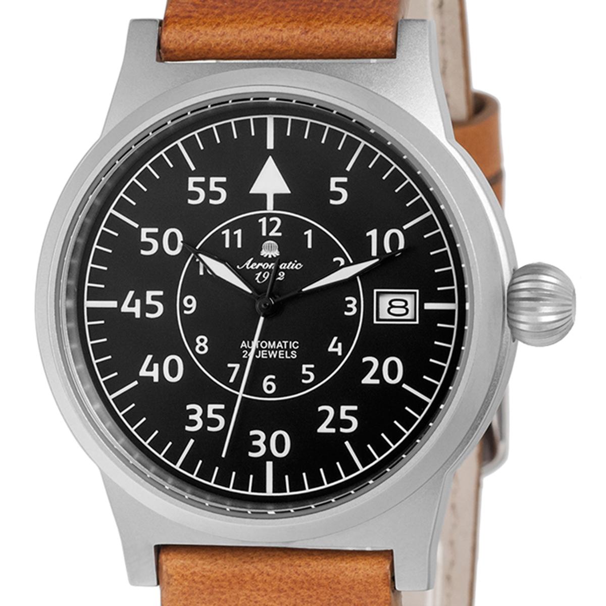 Aeromatic1912 エアロマティック1912 自動巻き(手巻き機能あり) 腕時計 [A1143X] 並行輸入品  デイト