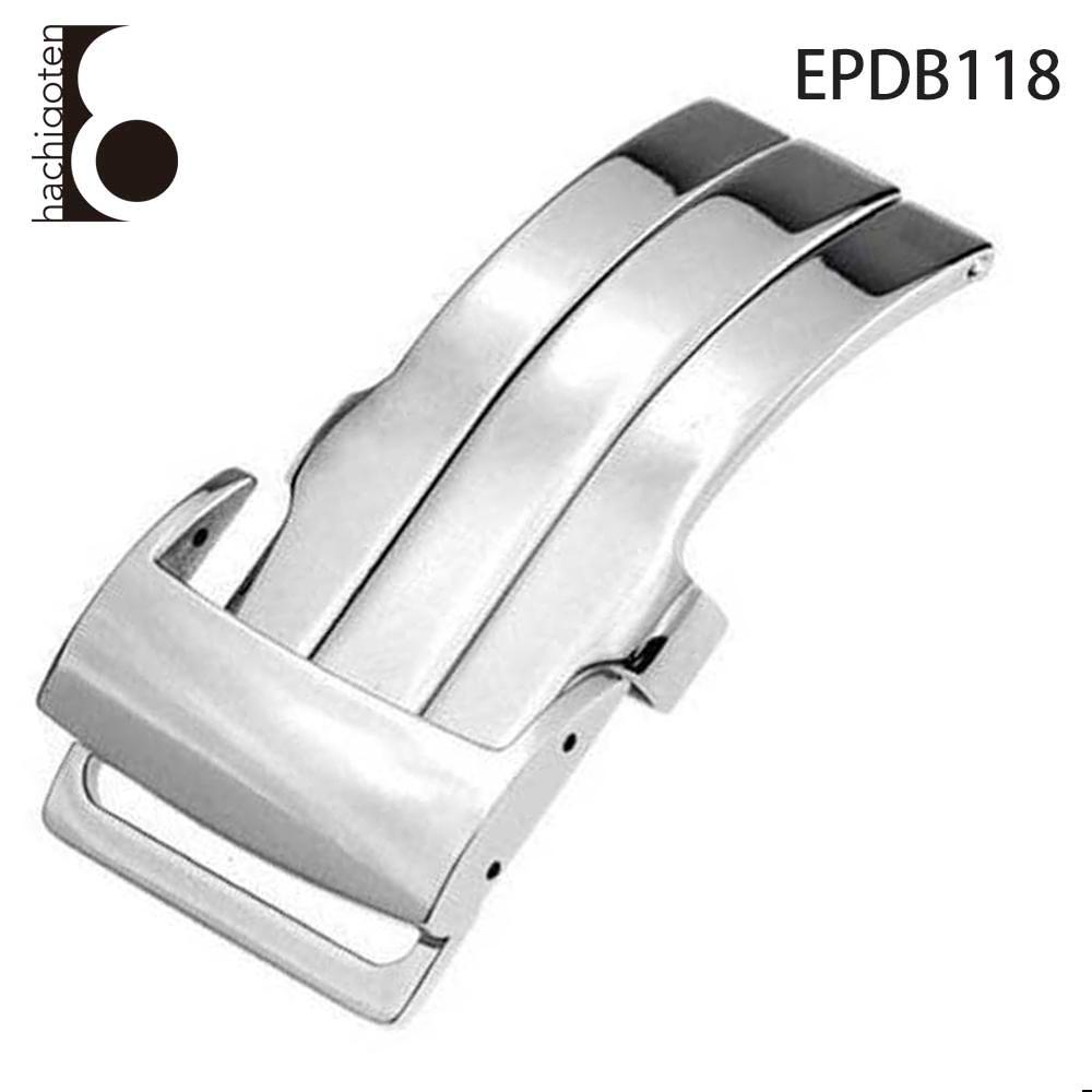 Dバックル シルバー 通常便なら送料無料 メンズ レディース ユニセックス ウォッチパーツ 交換用 腕時計用 尾錠 EPDB118 汎用 工具 - 部品 社外品 パーツ アウトレット Eight