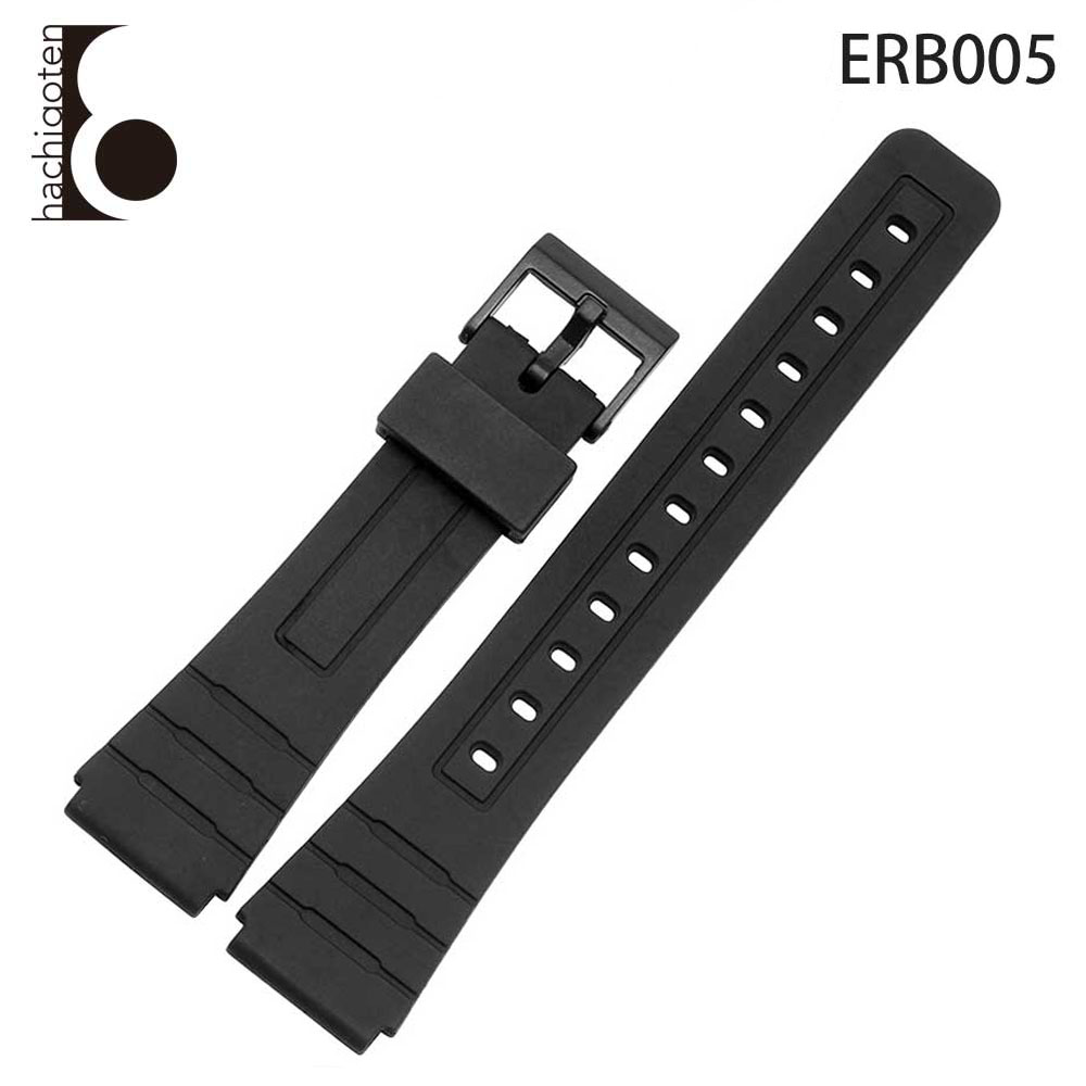 18mm BLACK plastic round Casio buckle FREE SHIPPING