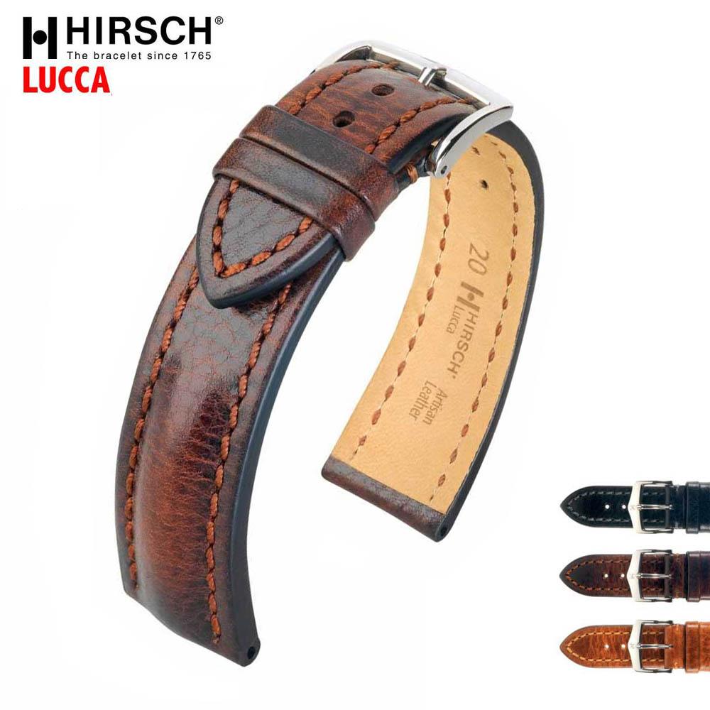 HIRSCH ヒルシュ LUCCA(ルッカ) カーフレザー(ヒルシュアーチザンレザー) 20mm/22mm/24mm