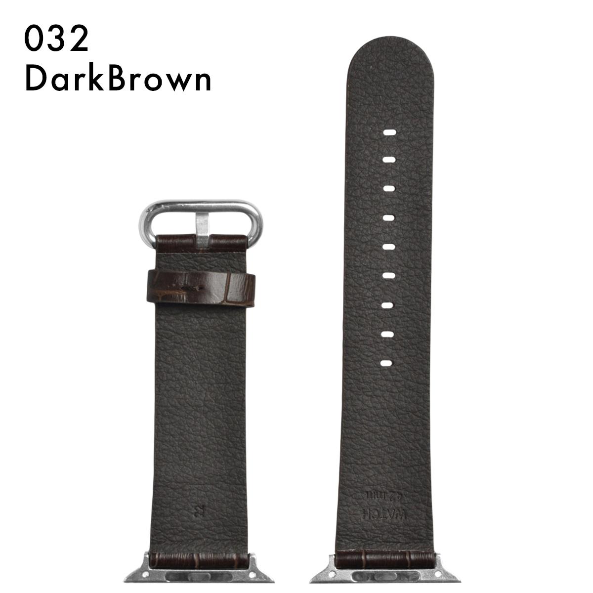 Morellato モレラート [A-STRAP エーストラップ] 腕時計用 レザーベルト 社外品 汎用品 取付幅:AppleWatch 42mmモデル Apple Watch アップルウォッチ (尾錠)ピンバックル付き [U4739]
