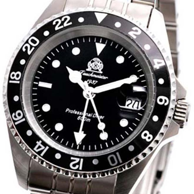 Tauchmeister 1937 トーチマイスター 1937 クォーツ 腕時計 メンズ ダイバーズウォッチ [T0021] 正規代理店品 メーカー保証24ヵ月