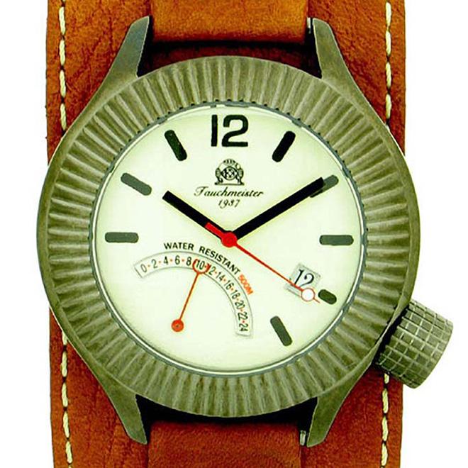 【残り1点】Tauchmeister 1937 トーチマイスター 1937 クォーツ 腕時計 メンズ ダイバーズウォッチ [T0102] 正規代理店品 メーカー保証24ヶ月&純正ケース付き