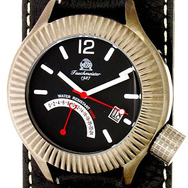 【残り1点】Tauchmeister 1937 トーチマイスター 1937 クォーツ 腕時計 メンズ ダイバーズウォッチ [T0103] 並行輸入品 メーカー保証24ヶ月&純正ケース付き