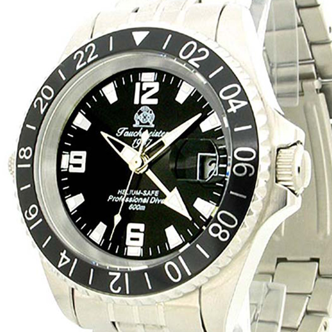 Tauchmeister 1937 トーチマイスター 1937 クォーツ 腕時計 メンズ ダイバーズウォッチ [T0107] 正規代理店品 メーカー保証24ヶ月&純正ケース付き