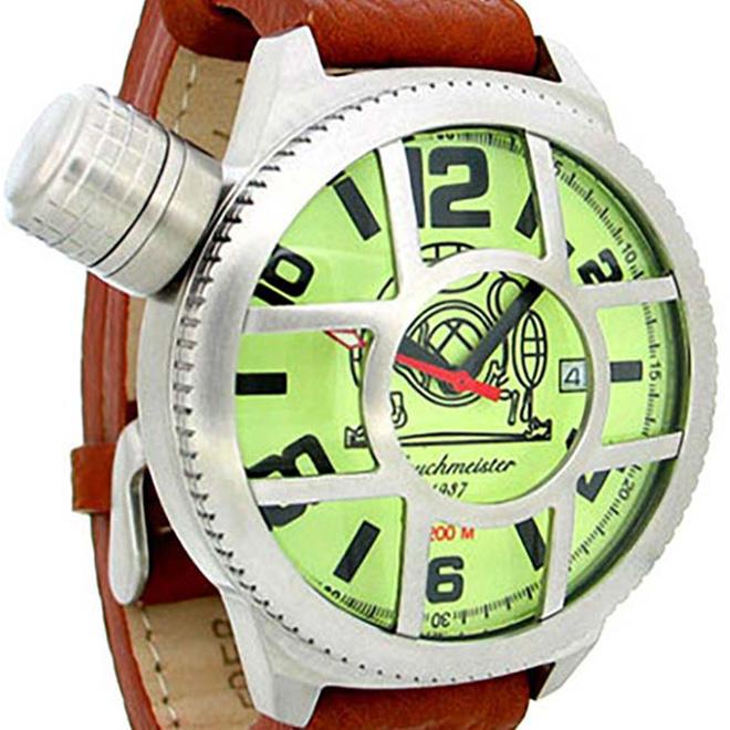 Tauchmeister 1937 トーチマイスター 1937 自動巻き 腕時計 メンズ ダイバーズウォッチ U-BOOT(ユーボート)[T0140] 正規代理店品 メーカー保証24ヶ月&純正ケース付き