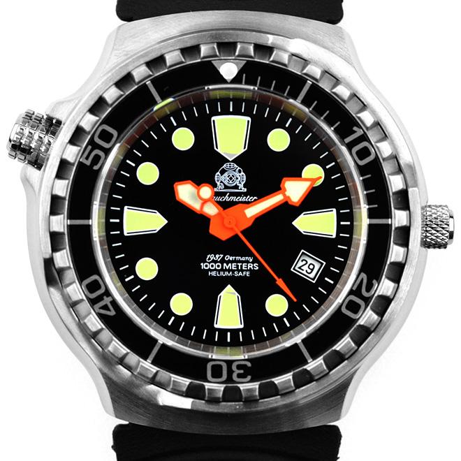 Tauchmeister 1937 トーチマイスター 1937 自動巻き 腕時計 メンズ ダイバーズウォッチ [T0245] 並行輸入品 メーカー保証24ヶ月&純正ケース付き