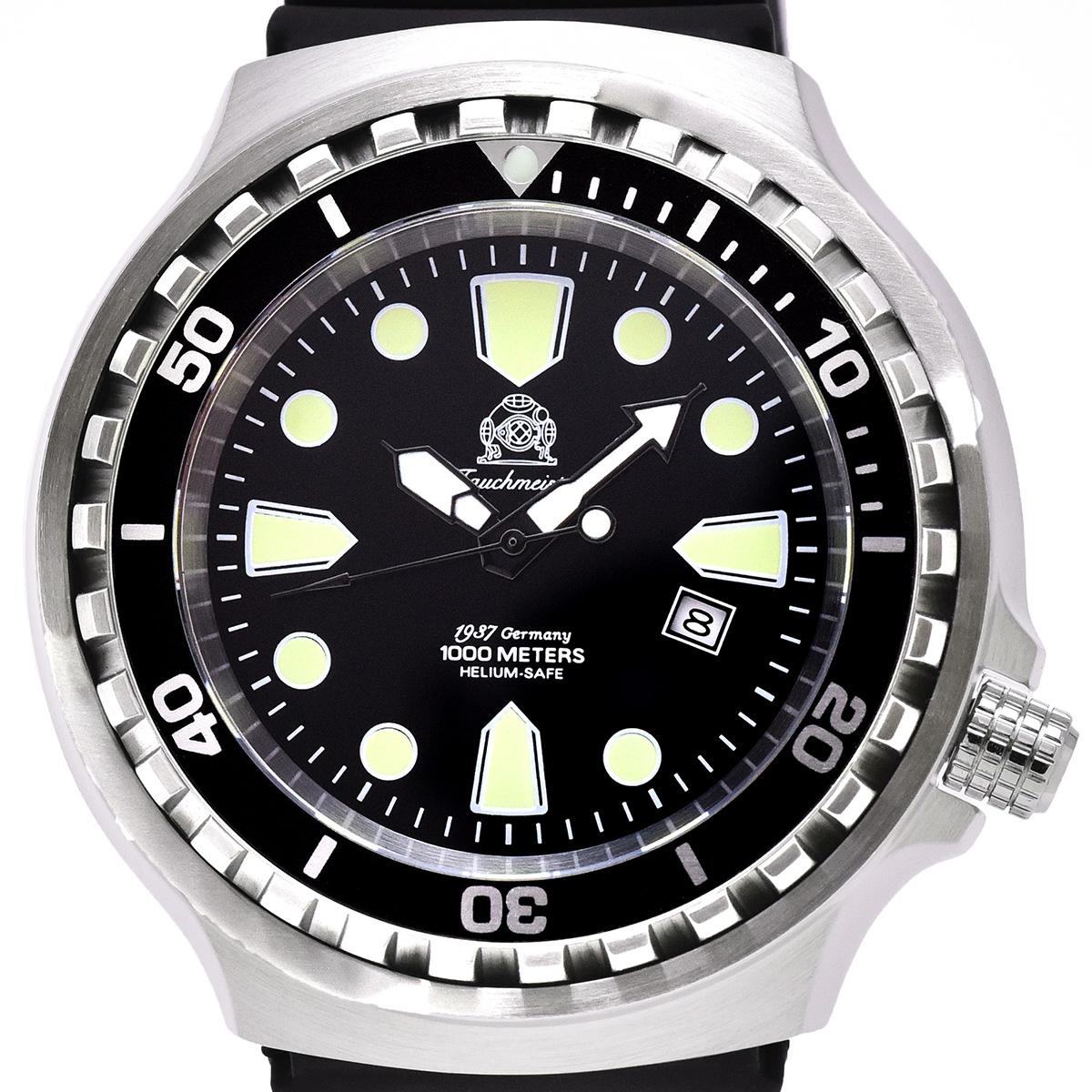 【残り1点】Tauchmeister 1937 トーチマイスター 1937 自動巻き 腕時計 メンズ ダイバーズウォッチ [T0267] 正規代理店品 メーカー保証24ヶ月&純正ケース付き