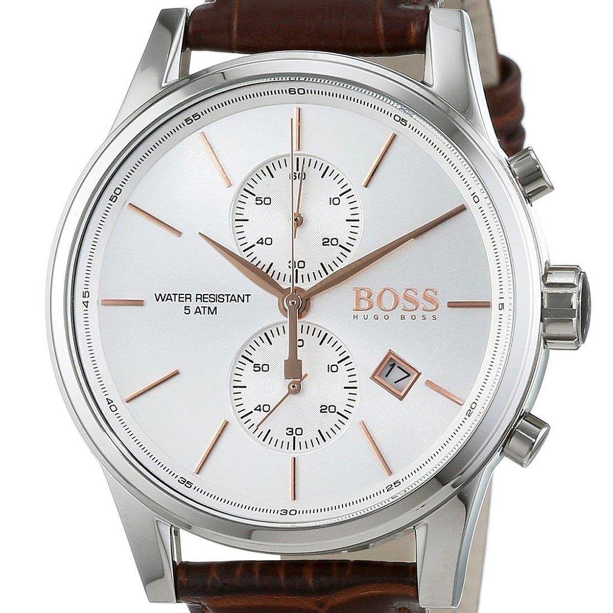 【残り1点】HUGOBOSS ヒューゴ・ボス 電池式クォーツ 腕時計 [1513280] 並行輸入品 カレンダー クロノグラフ