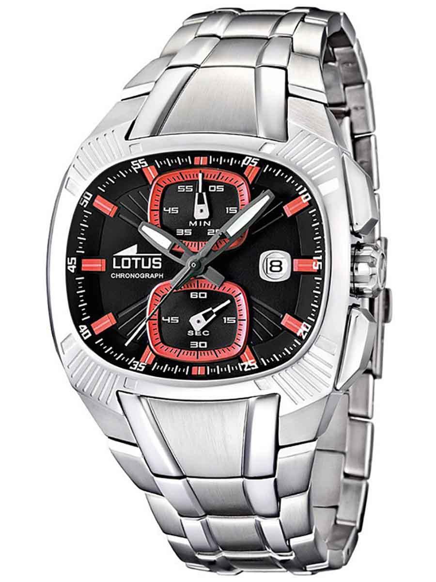 【残り1点】LOTUS ロータス 電池式クォーツ 腕時計 [15752-4] 並行輸入品   デイト  クロノグラフ