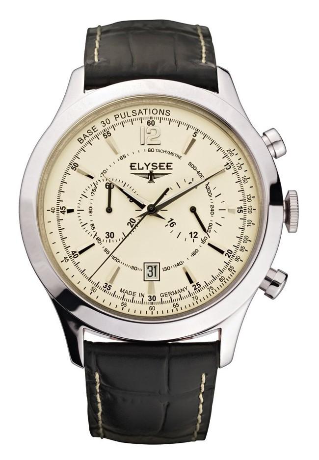 【残り1点】ELYSEE エリーゼ 腕時計 メンズ ブランド [18003] 並行輸入品 メーカー保証24ヶ月 純正ケース付き