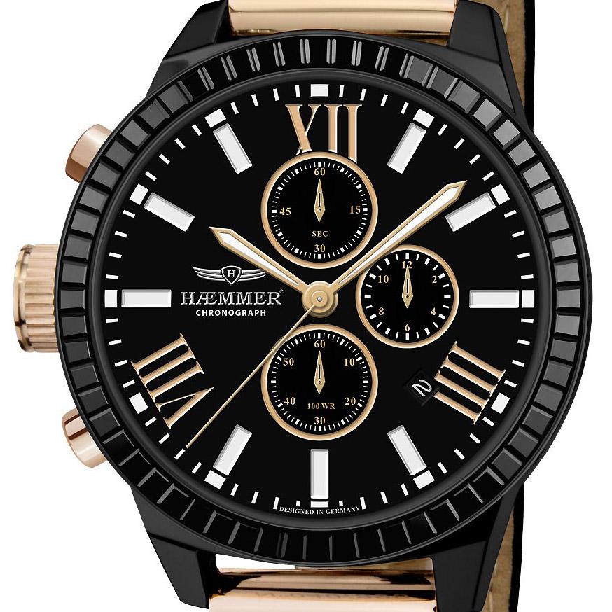 【残り1点】Haemmer ハンマー ドイツ クォーツ 腕時計 ファッション [BD-03] 並行輸入品
