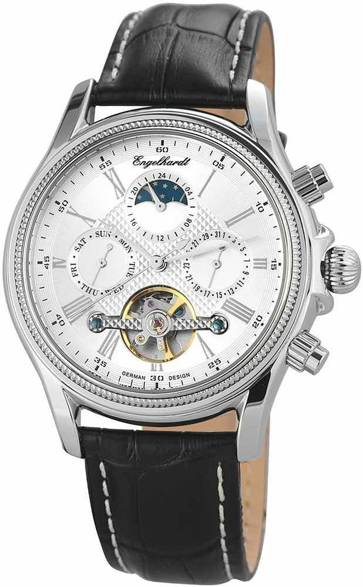 Engelhardt エンゲルハート 自動巻き 腕時計 メンズ ドイツ製 [388222529008] 並行輸入品 純正ケース付き【訳アリ価格:メーカー保証なし】